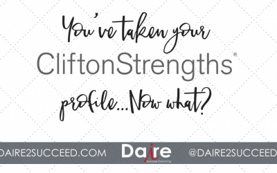 5 Steps to Take After Getting Your StrengthsFinder 2.0 Profile