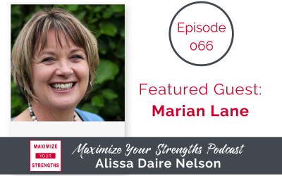 066: All About Significance with Marian Lane