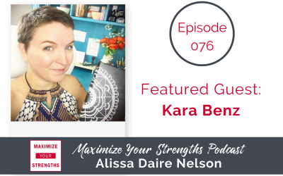 076: Bullet Journal Your Way with Kara Benz