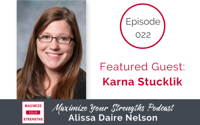 022: All About Consistency with Karna Stuchlik