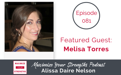 081: Tactics for Writing a Book with Your Strengths with Melisa Torres