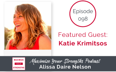 098: Time Management, Getting It All Done, and Staying Happy with Katie Krimitsos