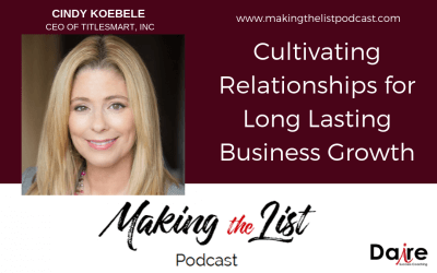 Cultivating Relationships for Business Growth with Cindy Koebele