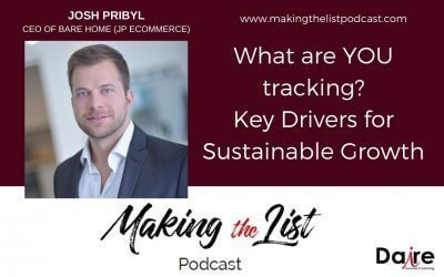What are YOU tracking? Key Drivers for Sustainable Growth with Josh Pribyl